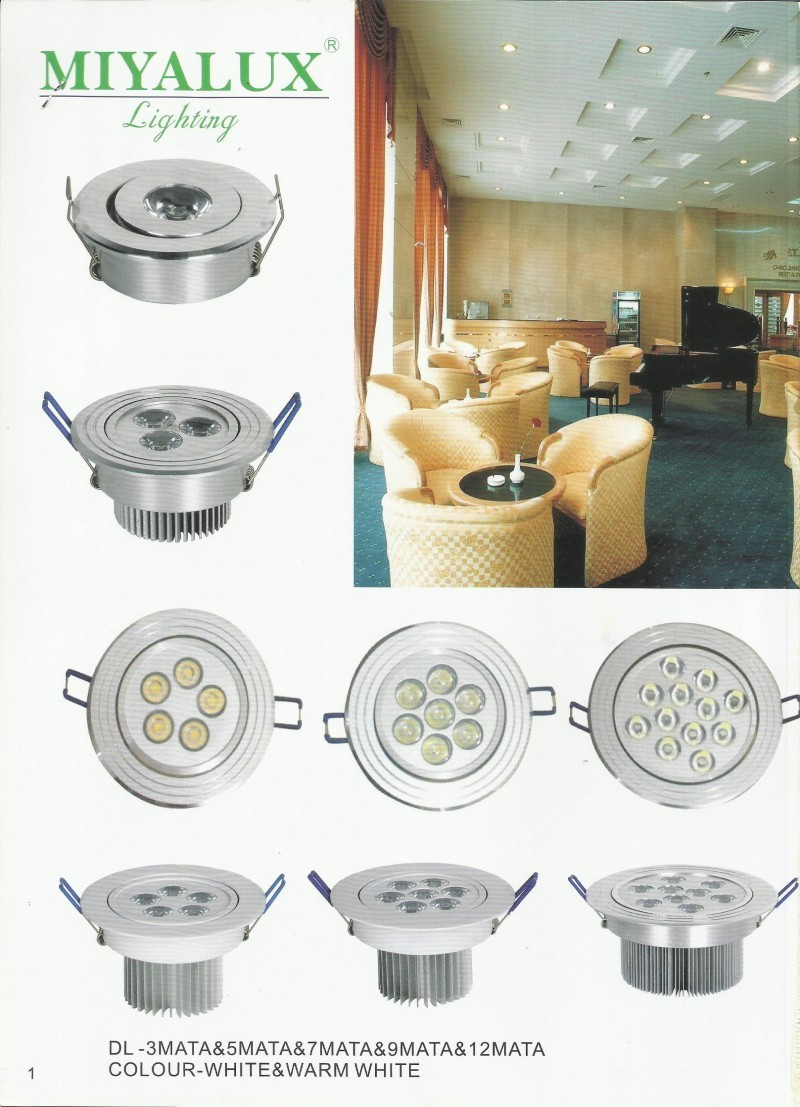 MIYALUX LIGHTING Downlight LED