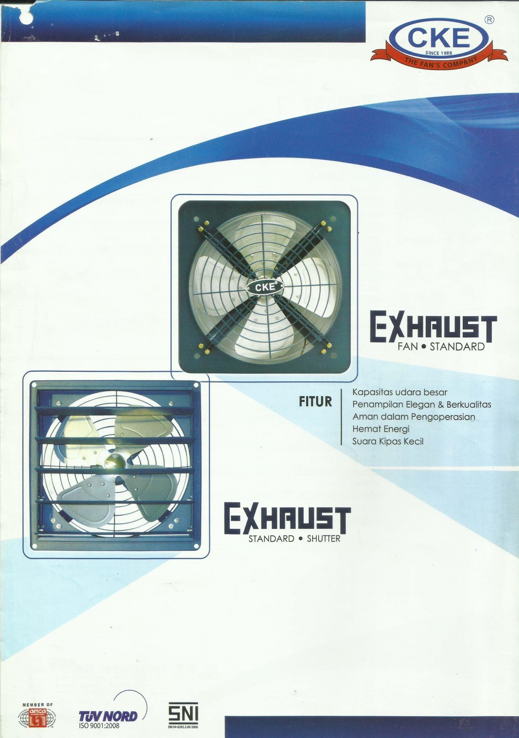 FAN, CKE, Exhaust Fan